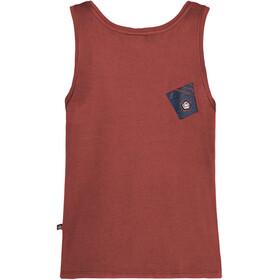 E9 Arv Mouwloos Shirt Heren rood